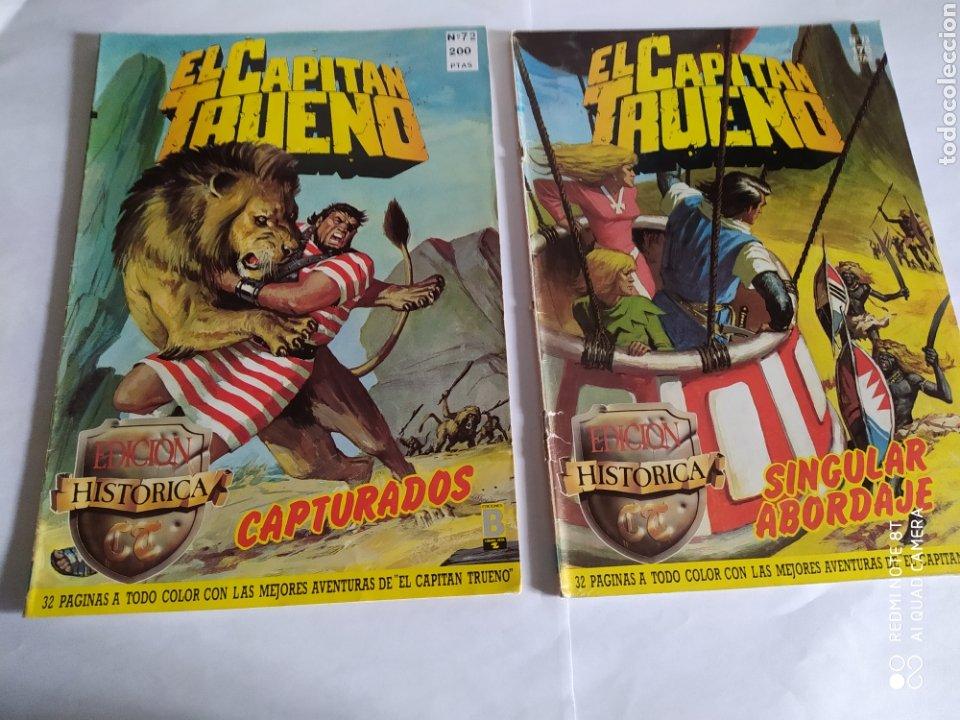 Cómics: El Capitán Trueno, lote de 7 números. Sueltos a 1,50 €. - Foto 3 - 197420162
