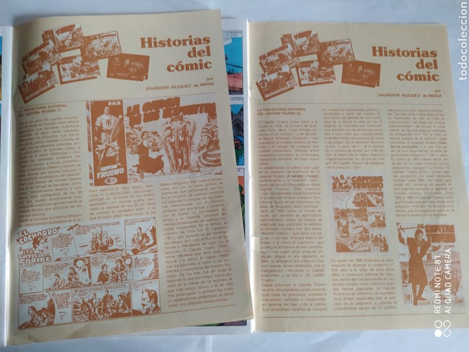 Cómics: El Capitán Trueno, lote de 7 números. Sueltos a 1,50 €. - Foto 4 - 197420162