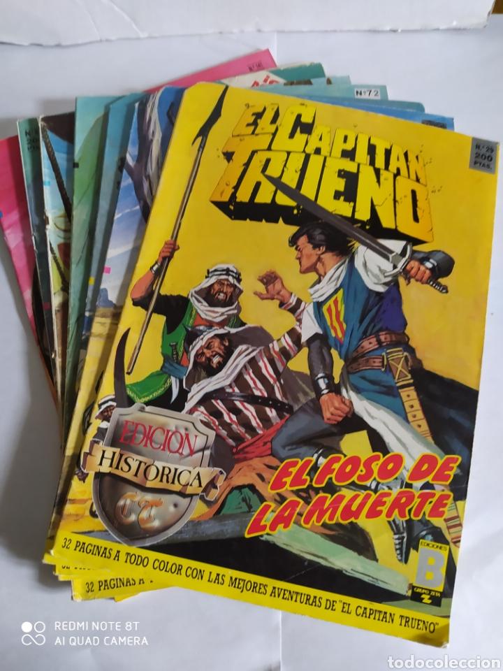 EL CAPITÁN TRUENO, LOTE DE 7 NÚMEROS. SUELTOS A 1,50 €. (Tebeos y Comics - Ediciones B - Otros)