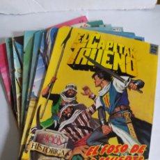 Cómics: EL CAPITÁN TRUENO, LOTE DE 7 NÚMEROS. SUELTOS A 1,50 €.. Lote 197420162