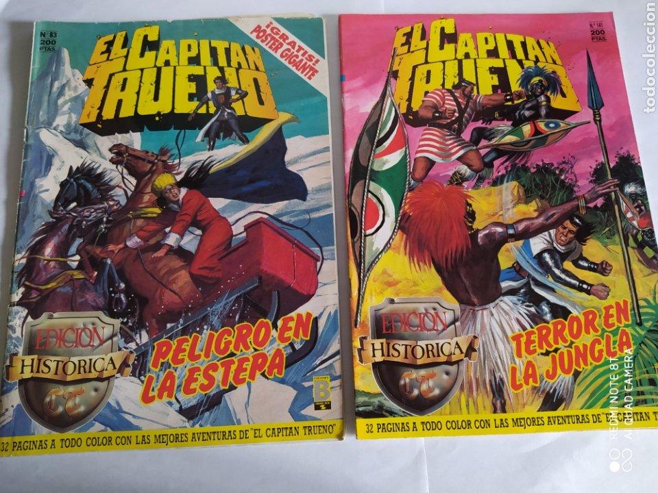 Cómics: El Capitán Trueno, lote de 7 números. Sueltos a 1,50 €. - Foto 5 - 197420162