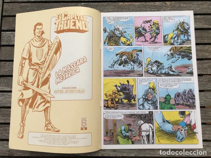 Cómics: EL CAPITÁN TRUENO Nº 90 (DE 148). EDICIÓN HISTÓRICA, EDICIONES B, AÑO 1988. 200 PESETAS. VER FOTOS. - Foto 2 - 185750952
