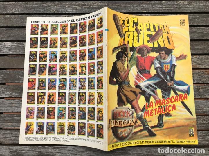 Cómics: EL CAPITÁN TRUENO Nº 90 (DE 148). EDICIÓN HISTÓRICA, EDICIONES B, AÑO 1988. 200 PESETAS. VER FOTOS. - Foto 3 - 185750952