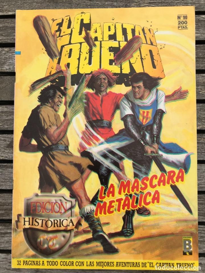 EL CAPITÁN TRUENO Nº 90 (DE 148). EDICIÓN HISTÓRICA, EDICIONES B, AÑO 1988. 200 PESETAS. VER FOTOS. (Tebeos y Comics - Ediciones B - Clásicos Españoles)