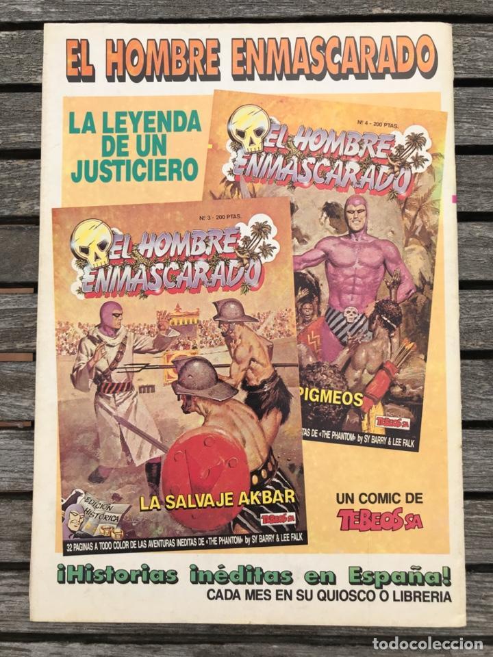 Cómics: EL CAPITÁN TRUENO Nº 78 (DE 148). EDICIÓN HISTÓRICA, EDICIONES B, AÑO 1988. 200 PESETAS. VER FOTOS. - Foto 4 - 185751152