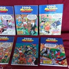 Cómics: TODO MORTADELO Y FILEMON 6 NÚMEROS. Lote 197734086