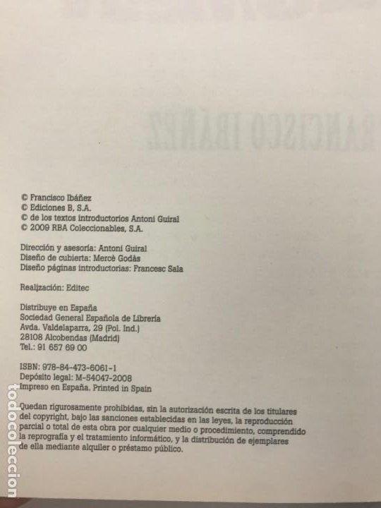 Cómics: Mortadelo Y Filemón, Ibañez /Edición Coleccionista-Editorial RBA, Año 2009 - Foto 3 - 197781585