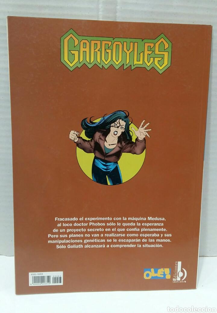 Cómics: OLÉ DISNEY. GARGOYLES. VENUS DE PIEDRA. NUEVO. NÚMERO 3. EDICIONES B. GRUPO ZETA. 1998. - Foto 2 - 198257632