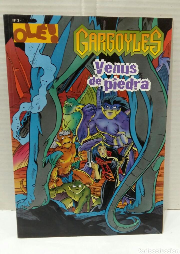 OLÉ DISNEY. GARGOYLES. VENUS DE PIEDRA. NUEVO. NÚMERO 3. EDICIONES B. GRUPO ZETA. 1998. (Tebeos y Comics - Ediciones B - Otros)