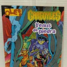 Cómics: OLÉ DISNEY. GARGOYLES. VENUS DE PIEDRA. NUEVO. NÚMERO 3. EDICIONES B. GRUPO ZETA. 1998.. Lote 198257632