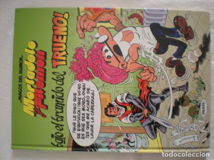 MORTADELO Y FILEMÓN - BAJO EL BRAMIDO DEL TRUENO (MAGOS DEL HUMOR) (Tebeos y Comics - Ediciones B - Humor)