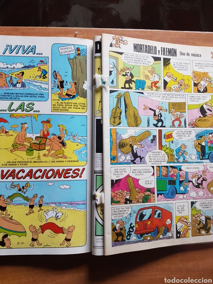 Cómics: TEBEOS DE HOY,MORTADELO Y FILEMON,ZIPI Y ZAPE-N°64 JUNIO DE 1988 - Foto 3 - 198891162