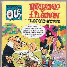 Cómics: MORTADELO Y FILEMÓN CON BOTONES SACARINO Nº 230. Lote 198970767