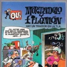 Cómics: MORTADELO Y FILEMÓN HAY UN TRAIDOR EN LA T.I.A Nº 6. Lote 198970933