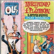 Cómics: MORTADELO Y FILEMÓN EL BOTONES SACARINO PLAN INFALIBLE Nº 183 . Lote 198971093