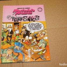Cómics: MAGOS DEL HUMOR , EL PINCHAZO TELEFÓNICO, CON MORTADELO Y FILEMÓN, 2ª EDICIÓN, EDICONES B. Lote 199183688