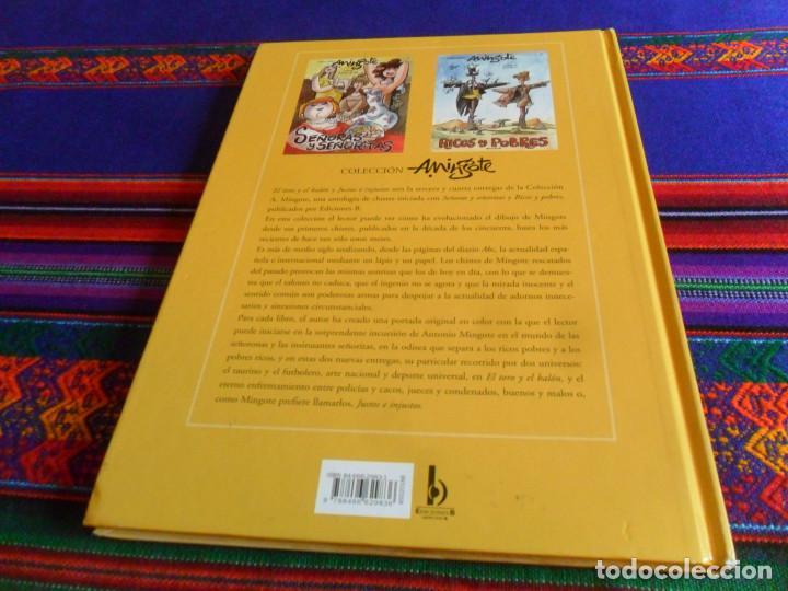 Cómics: COLECCIÓN MINGOTE 3, EL TORO Y EL BALÓN. EDICIONES B 1ª EDICIÓN 2006. BUEN ESTADO Y RARO. - Foto 7 - 193987196