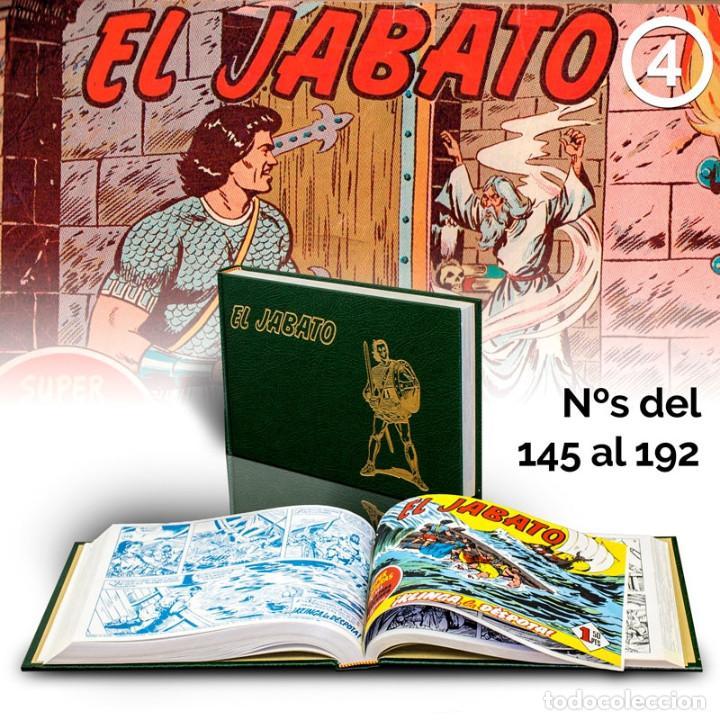 CÓMICS. EL JABATO 4 ( 145 AL 192) VÍCTOR MORA/FRANCISCO DARNIS (CARTONÉ) DESCATALOGADO!!! OFERTA!!! (Tebeos y Comics - Ediciones B - Clásicos Españoles)