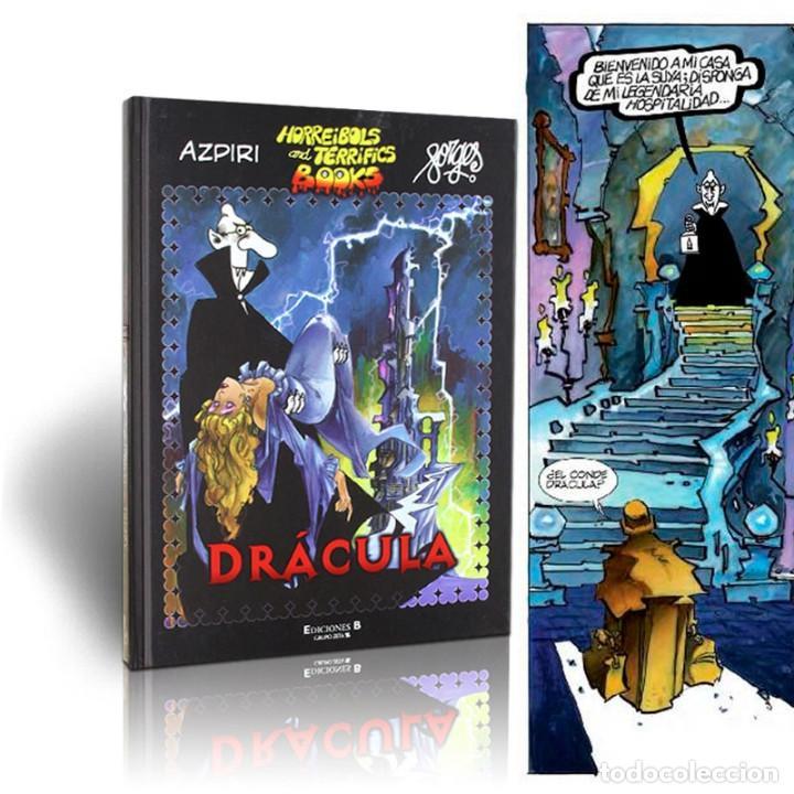 CÓMICS. DRÁCULA - AZPIRI/FORGES (CARTONÉ) DESCATALOGADO!!! OFERTA!!! (Tebeos y Comics - Ediciones B - Clásicos Españoles)