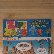 Cómics: ZIPI Y ZAPE. EXTRA 57. SIGUE LA HISTORIA DE LOS XUNGUIS. BUEN ESTADO. . Lote 200008145