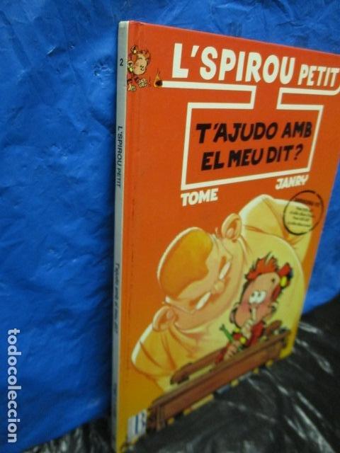 Cómics: l SPIROU PETIT N. 2 . T AJUDO AMB EL MEU DIT. EDICIO EN CATALA. TAPA DURA. - Foto 2 - 200302755