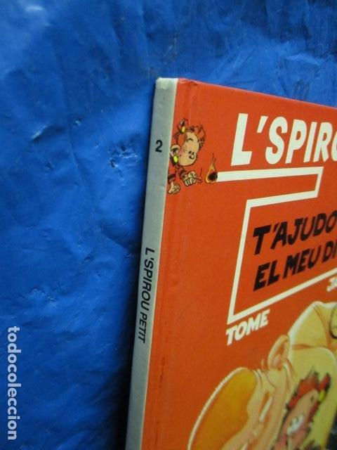 Cómics: l SPIROU PETIT N. 2 . T AJUDO AMB EL MEU DIT. EDICIO EN CATALA. TAPA DURA. - Foto 3 - 200302755