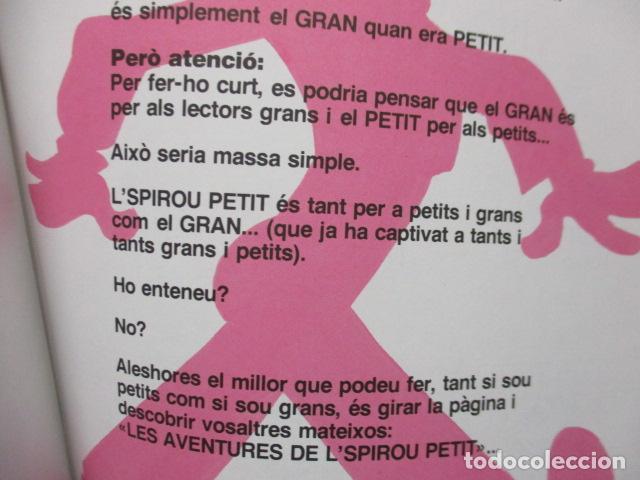 Cómics: l SPIROU PETIT N. 2 . T AJUDO AMB EL MEU DIT. EDICIO EN CATALA. TAPA DURA. - Foto 10 - 200302755