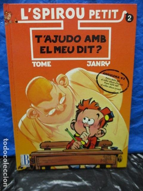 L SPIROU PETIT N. 2 . T AJUDO AMB EL MEU DIT. EDICIO EN CATALA. TAPA DURA. (Tebeos y Comics - Ediciones B - Otros)