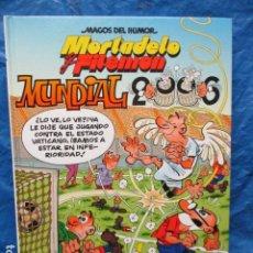 Cómics: OLE MORTADELO Nº 176 - MUNDIAL 2006 - BRUGUERA 2006. Lote 200395122