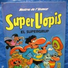 Cómics: COMIC TAPA DURA MESTRES DE L'HUMOR Nº 14 SUPER LLOPIS EL SUPERGRUP. Lote 200395472