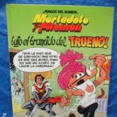 Cómics: MORTADELO Y FILEMON. BAJO EL BRAMIDO DEL TRUENO - MAGOS DEL HUMOR Nº 112 . Lote 200395561