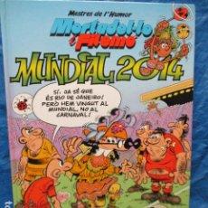 Cómics: MESTRES DE L'HUMOR MORTADEL-LO I FILEMÓ Nº 36 MUNDIAL 2014. Lote 200395782