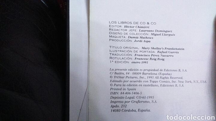 Cómics: FRANKENSTEIN EL CÓMIC MARY SHELLEY ADAPTACIÓN OFICIAL DE LA PELÍCULA DE KENNETH BRANNAGH - Foto 9 - 201168625