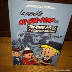 Comics : MAGOS HUMOR 129.LA PANDILLA CU-CUX-PLAF:EN FANTOMAS PÉREZ SOCIEDAD MUY LIMITADA,COMICS,MARTZ SCHMIDT. Lote 201677730