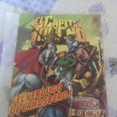 Cómics: COMIC EL CAPITÁN TRUENO N 123 EDICIONES B GRUPO Z 1989.. Lote 201908141