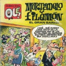 Comics: COLECCIÓN OLÉ - EDICIONES B / NÚMERO 379 (MORTADELO Y FILEMÓN - EL GRAN SARAO). Lote 202021210