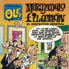 Cómics: COLECCIÓN OLÉ - EDICIONES B / NÚMERO 387 (MORTADELO Y FILEMÓN - EL INSPECTOR GENERAL). Lote 202034522