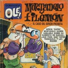 Comics: COLECCIÓN OLÉ - EDICIONES B / NÚMERO 397 (MORTADELO Y FILEMÓN - EL CASO DEL SEÑOR-PROBETA). Lote 202074607