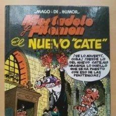 Cómics: MORTADELO Y FILEMON. EL NUEVO CATE. MAGOS DEL HUMOR. TAPA DURA.. Lote 202247620