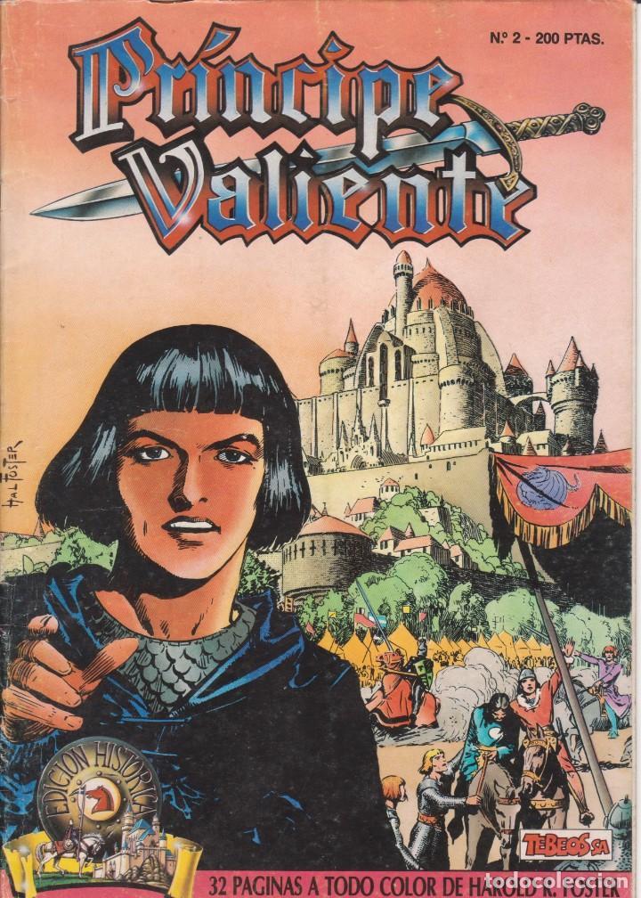 COMIC EL PRÍNCIPE VALIENTE Nº 2 TEBEOS S.A. EDICIONES B 1988 (Tebeos y Comics - Ediciones B - Otros)
