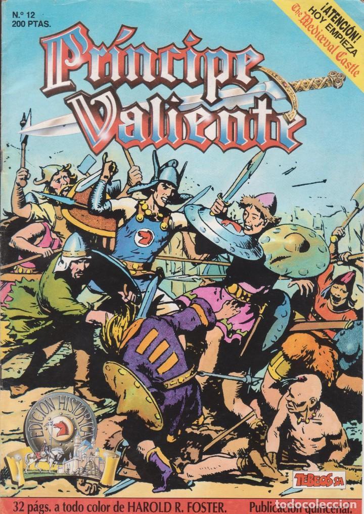 COMIC EL PRÍNCIPE VALIENTE Nº 12 TEBEOS S.A. EDICIONES B 1989 (Tebeos y Comics - Ediciones B - Otros)
