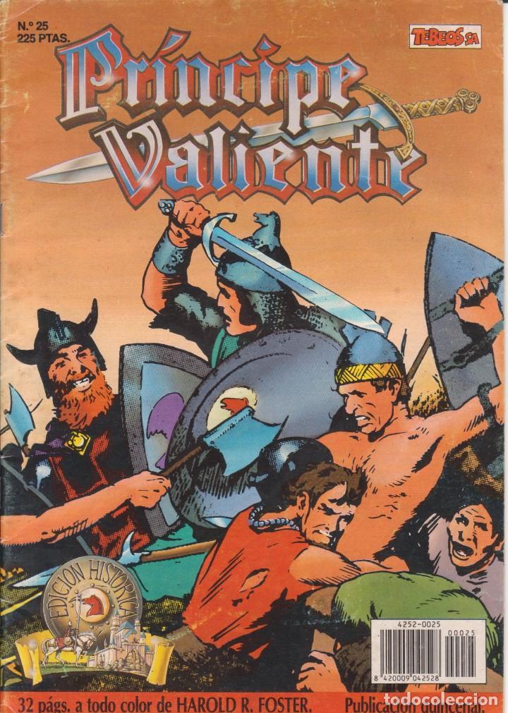 COMIC EL PRÍNCIPE VALIENTE Nº 25 TEBEOS S.A. EDICIONES B 1990 (Tebeos y Comics - Ediciones B - Otros)