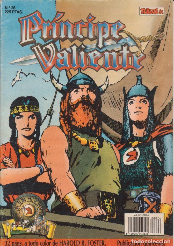 COMIC EL PRÍNCIPE VALIENTE Nº 26 TEBEOS S.A. EDICIONES B 1990 (Tebeos y Comics - Ediciones B - Otros)