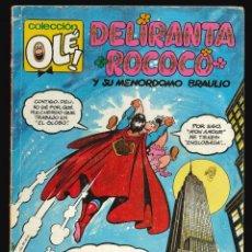 Cómics: COLECCIÓN OLÉ - EDICIONES B / NÚMERO 415 (DELIRANTA ROCOCÓ Y SU MENORDOMO BRAULIO). Lote 202287765