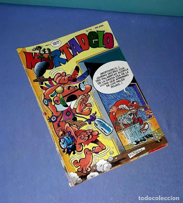 LOTE DE 7 COMICS DE MORTADELO EDICIONES B ANTIGUA BRUGUERA AÑOS 80 ORIGINALES (Tebeos y Comics - Ediciones B - Clásicos Españoles)