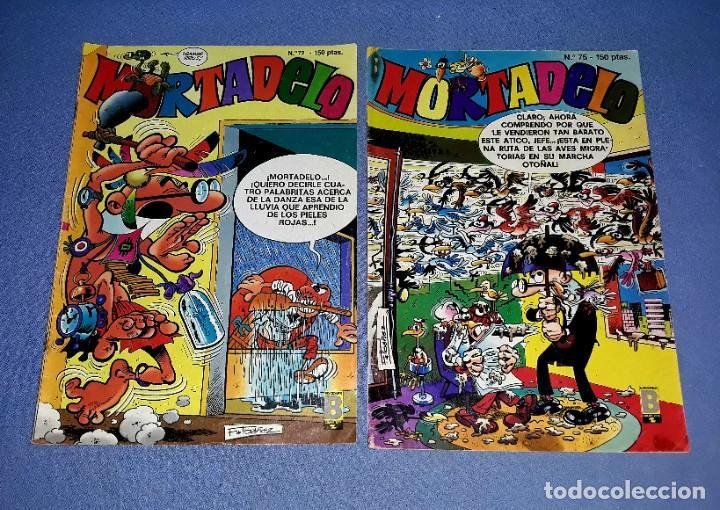 Cómics: LOTE DE 7 COMICS DE MORTADELO EDICIONES B ANTIGUA BRUGUERA AÑOS 80 ORIGINALES - Foto 2 - 202301673