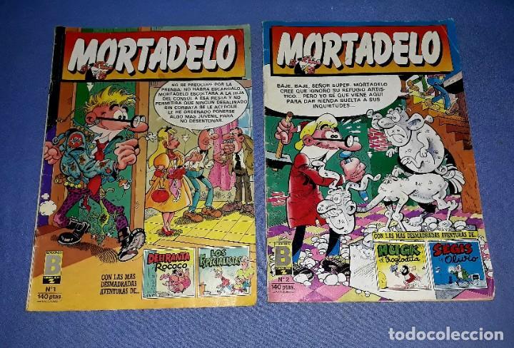 Cómics: LOTE DE 9 COMICS DE MORTADELO Y SUPER MORTADELO EDICIONES B ANTIGUA BRUGUERA AÑOS 80 ORIGINALES - Foto 2 - 217125301