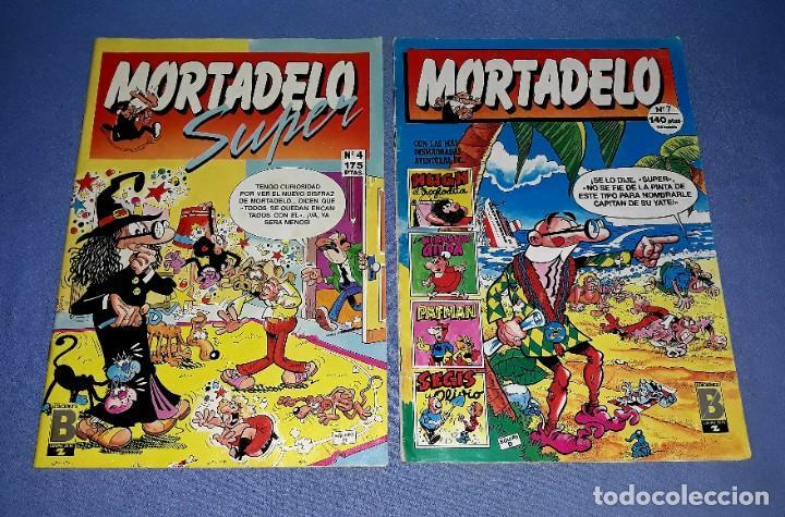 Cómics: LOTE DE 9 COMICS DE MORTADELO Y SUPER MORTADELO EDICIONES B ANTIGUA BRUGUERA AÑOS 80 ORIGINALES - Foto 3 - 217125301