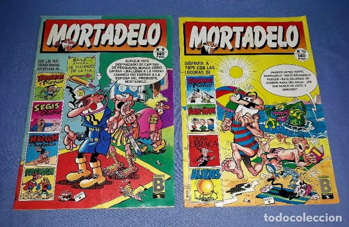Cómics: LOTE DE 9 COMICS DE MORTADELO Y SUPER MORTADELO EDICIONES B ANTIGUA BRUGUERA AÑOS 80 ORIGINALES - Foto 4 - 217125301
