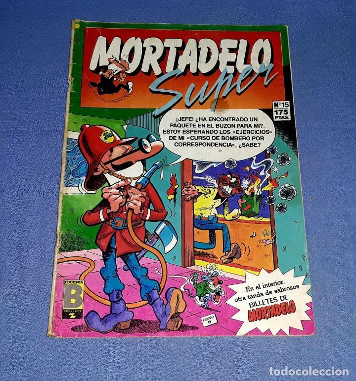 Cómics: LOTE DE 9 COMICS DE MORTADELO Y SUPER MORTADELO EDICIONES B ANTIGUA BRUGUERA AÑOS 80 ORIGINALES - Foto 6 - 217125301